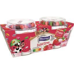 Suiss' Croc - Fromage frais fraise
