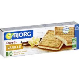 Biscuits fourrés vanille BIO