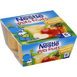 P'tits Fruits - Desserts pommes ananas, 6+ mois