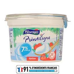 Printiligne - Spécialité laitière épaisse 7% MG