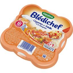 Blédichef - Légumes et volaille à la basquaise, dès ...