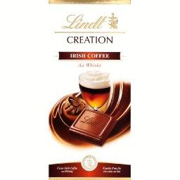 Création - Chocolat au lait Irish Coffee au Whisky