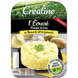 Créaline L'Ecrasé pommes de terre au beurre d'Isigny sel de G...