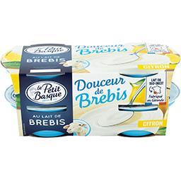 Douceur de brebis - Spécialité laitière citron