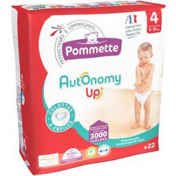 Couches culotte Autonomy Up, taille 4 : 8-15 kg
