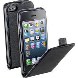 Etui a rabat noir pour iphone5