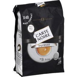 Dosettes de café moulu Espresso n°8