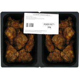 Notre Sélection Ailes de poulet rôties barbecue la barquette de 1 kg