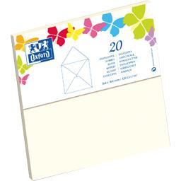Enveloppe 164x164 120 g beige gommée patte pointue