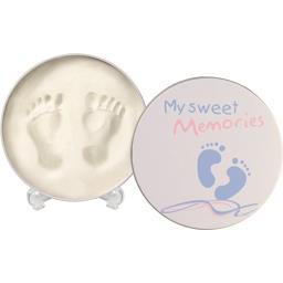 Boite pour empreintes de bébé 0-3 ans