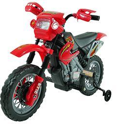 Moto cross 6 V moteur 18 W 2 vitesses