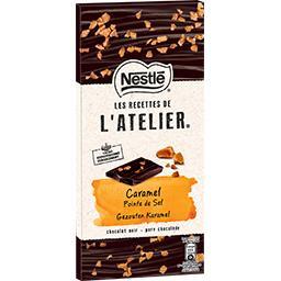 Les Recettes de l'Atelier - Chocolat noir caramel po...