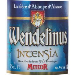 Bière blonde Incensia Wendelinus