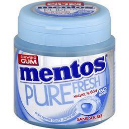 Pure Fresh - Chewing-gum goût menthe douce sans sucr...