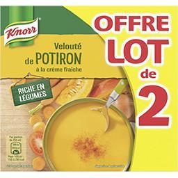 Knorr Soupe liquide, velouté de potiron à la crème fraîche