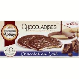 Biscuits sablés au chocolat au lait, Chocoladises