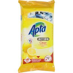 Activ' - Lingettes multi-surfaces, citron