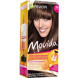 Movida 35, soin crème colorant ton sur ton châtain, ...