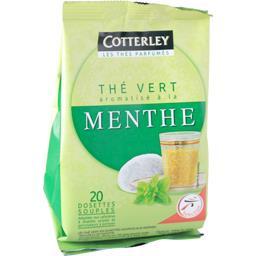 Dosettes thé vert aromatisé à la menthe