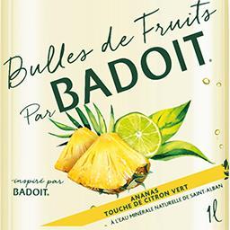 Bulles de Fruits - Eau gazeuse ananas citron vert
