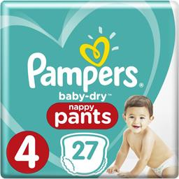 Baby-dry - pants - taille 4 9-15 kg - couches-culott...