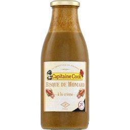 Bisque de homard,CAPITAINE COOK,la bouteille d'1L