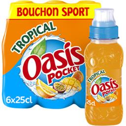 Pocket - Boisson à l'eau de source Tropical