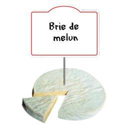 Brie de Melun AOP 24% de MG