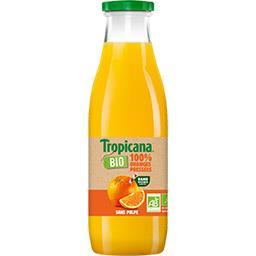 Jus d'orange 100% pur jus BIO