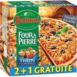 Four à Pierre - Pizzas thon à la Provençale