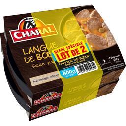 Charal Langue de bœuf sauce piquante le boites de 300 g