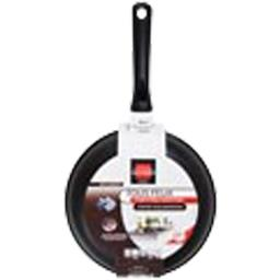 Poêle fonte d'alu, tous feux compatible induction, anti-adhésif, D24cm