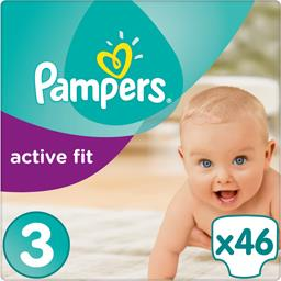 Couches Active Fit, taille 3 : 4-9 kg