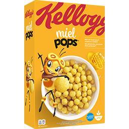 Kellogg's Miel Pops - Céréales maïs soufflé et miel