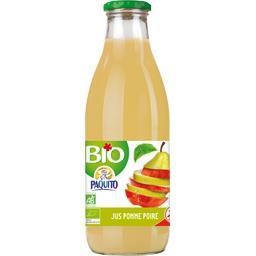 Paquito Jus pomme poire BIO la bouteille de 1 l
