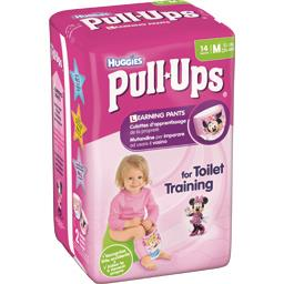 Culottes d'apprentissage Pull-Ups fille, taille M : 11-18 kg