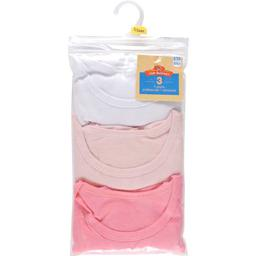Tee-shirt fille manches courtes unis, 4/5 ans