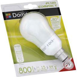 Domédia Ampoule STD fluo 15W B22 l'ampoule