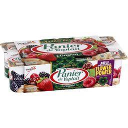 Yaourt l'Original framboise, fraise, cerise et mûre