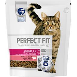 Perfect Fit Croquettes riche en bœuf Adult 1+ pour chats stérili...