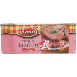 Terrine de jambon , label rouge
