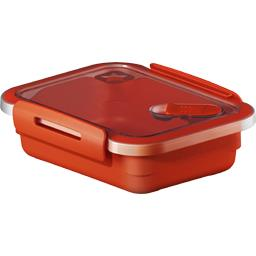Boite micro-ondes Memory 0,4 L plate valve rouge