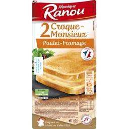 Croque-monsieur poulet fromage