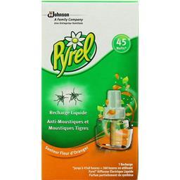 Recharge liquide anti moustiques parfum fleur d'oran...