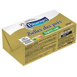 Pâturages Beurre Belles des Près demi-sel la plaquette de 250 g