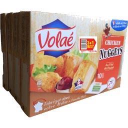 Volaé Nuggets filets de poulet les 3 boites de 200 g