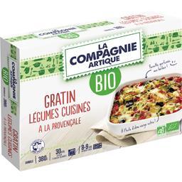 La Compagnie Artique Gratin légumes cuisinés à la provençale BIO