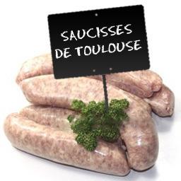 Saucisse de Toulouse sans colorant