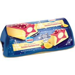Nestlé Bûche glacée Délice Etoilée fraîcheur framboise citr... la boite de 540 g
