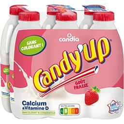Candy'Up - Boisson lactée arôme fraise
